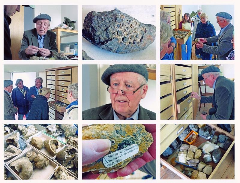 b Dr. Ernst Sauer - Geologe und Mineraliensammler - Sprechstunde am 8.11.2015