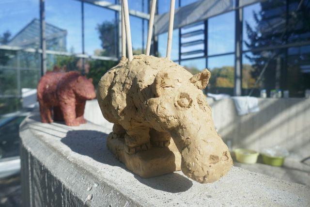 13102018 Keramik Workshop Figuren Aus Ton Botanischer Garten